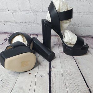 Jimmy Choo Black 125mm Platform Sandal